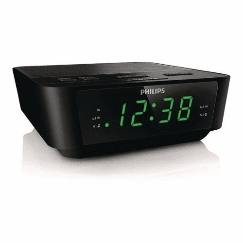 SecureGuard 1080P Elite WiFi Alarm Clock Radio Spy Camera