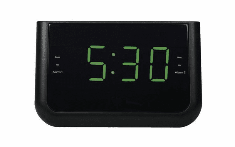 SecureGuard 1080P Elite WiFi Covert Alarm Clock Radio Spy Camera