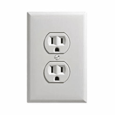 SecureGuard 1080P Elite WiFi Power Outlet Receptacle Spy Camera (White)