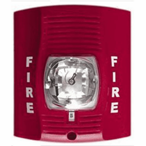 SecureGuard Fire Alarm Strobe light Spy Camera