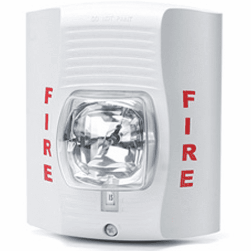SecureGuard Fire Alarm Strobe light Spy Camera (White)