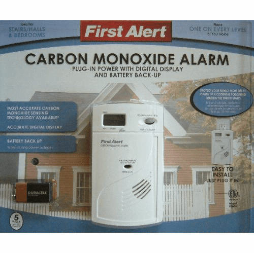 SecureGuard HD Wireless 4G Carbon Monoxide Detector Spy Camera