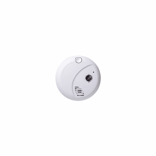 SecureGuard HD Wireless IP Smoke Detector Spy Camera