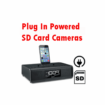 SecureGuard Plug In SD Card Spy Cameras