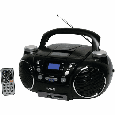 AM/FM/MP3 Boombox with USB port SDslot - JEN-CD-750