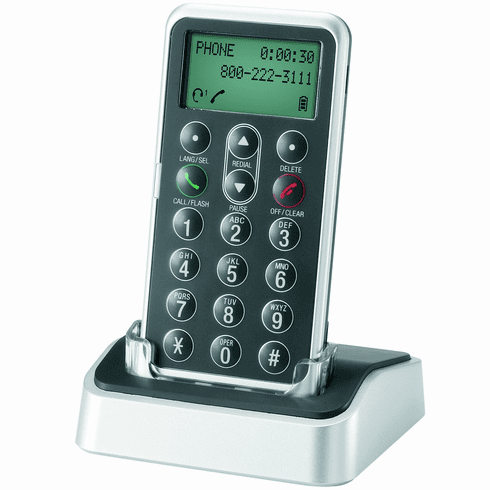 AT&T TL7601 DECT 6.0 Digital Cordless Headset Remote Dial Pad