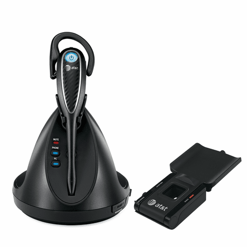 AT&T TL7812 DECT 6.0 Cordless Headset and Handset Lifter