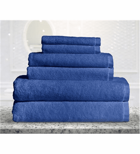 Bamboo Fiber 6pc Towel Set