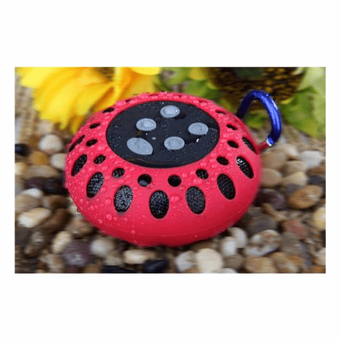 Cobra Digital Bluetooth speaker with clip (Red)