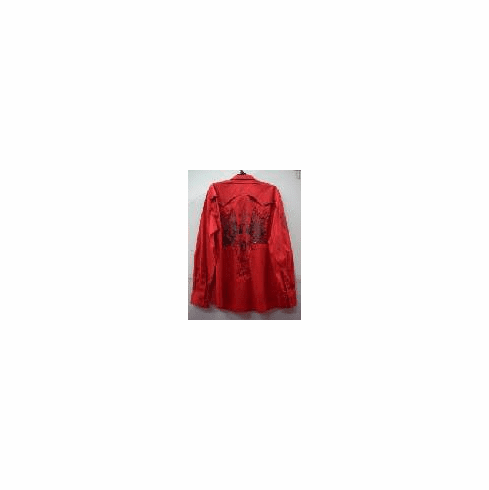 custom red long sleeve shirt 2037