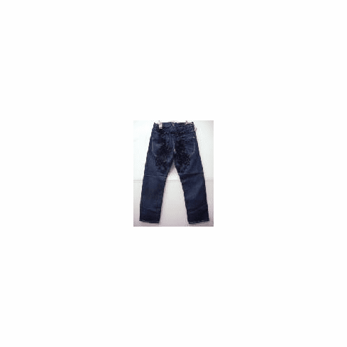 Dark blue custom denim jean 2034