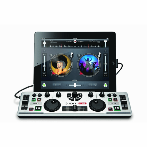 ION Audio IDJ2GO DJ System for iPad