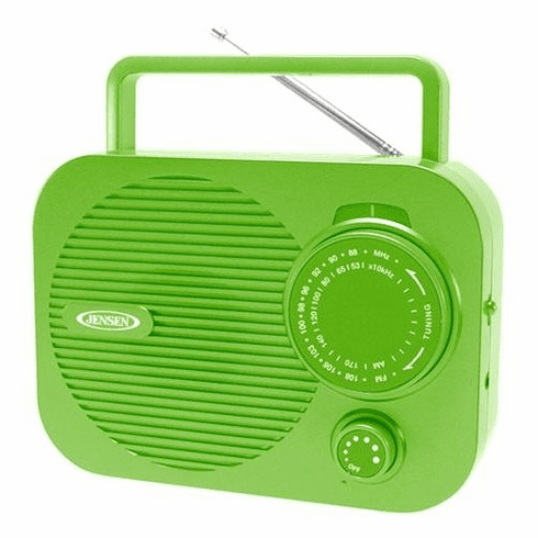 Jensen Portable AM/FM radio