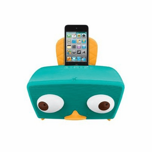 KIDdesigns Perry-Diculous iPod Boombox