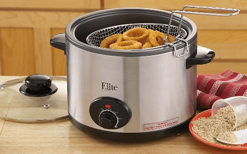 MaxiMatic Elite 5-Quart Multicooker Deep Fryer