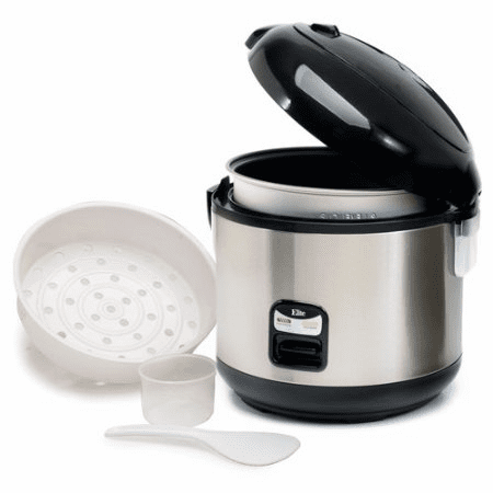 MaxiMatic Elite Platinum10-Cup Rice Cooker