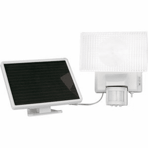 MAXSA Innovations Solar-Powered 30Watt Security Floodlight