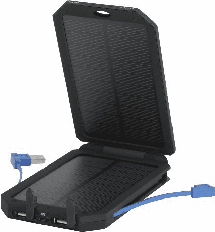Olympia Solar Power Charger w/ 2 Outputs