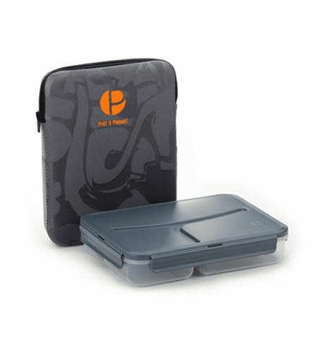 Pret a Paquet Lunch Pack - Gray/Orange