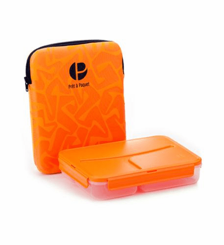 Pret a Paquet Lunch Pack - Orange/Black