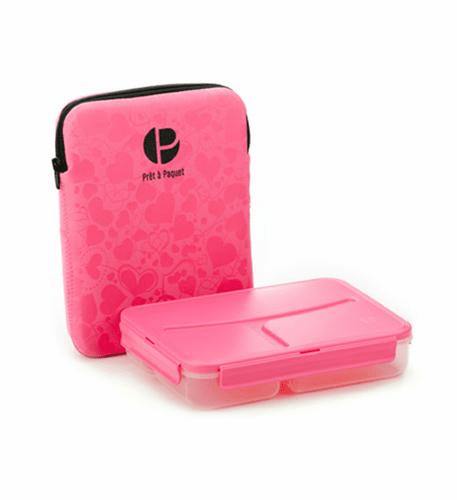Pret a Paquet Lunch Pack-Pink/Black
