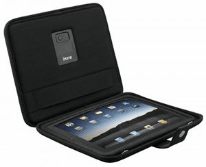 Protective case & stand for iPad w/ speakers (IH-iDM69)