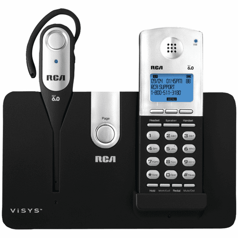 RCA RCA-25111 Dect 6.0 Cordless Headset/Handset