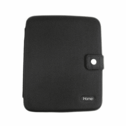 SDI TECHNOLOGIES IH-iDM70B iPad case w/ built-in recharge speakers