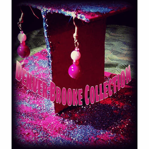 Shades of Pink Earrings
