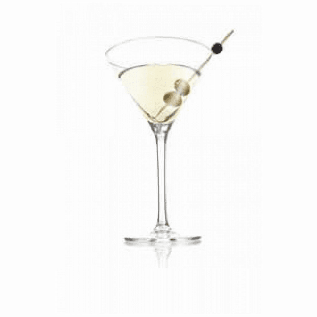 VacuVin Martini Glass Set of 2 VAC-7648060