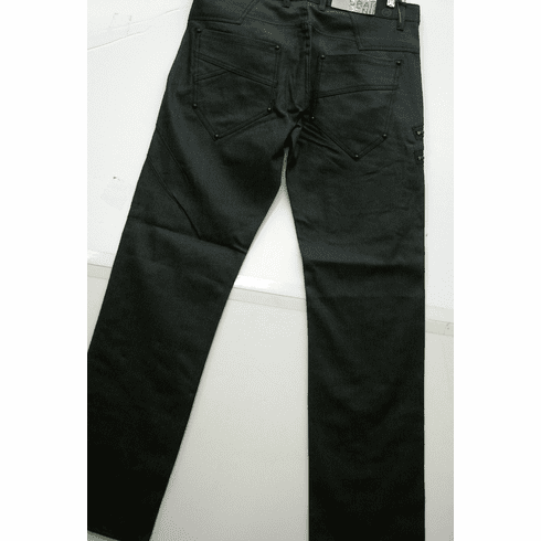 Waxing Denim slim pants