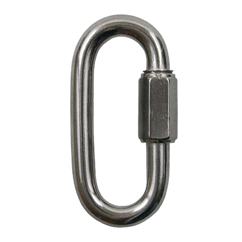 """1/2"""" Type 316 Stainless Steel Quick Link - 2500 WLL"""