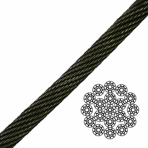 19x19 Compacted Spin-Resistant Wire Rope