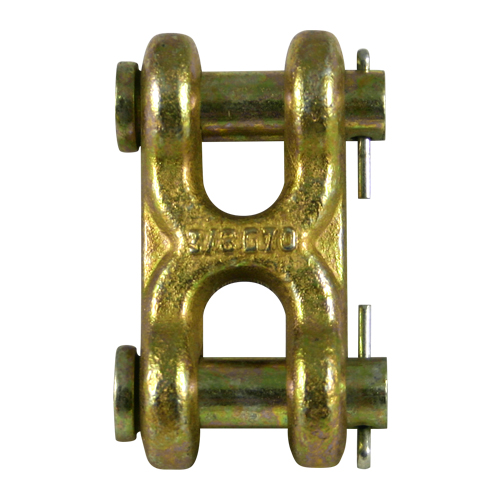 "3/8"" Grade 70 Twin Clevis Link - 6600 lbs WLL"