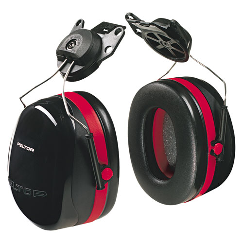 3M Peltor Cap-Mount Ear Muffs - NRR 27 dB - #H10P3E