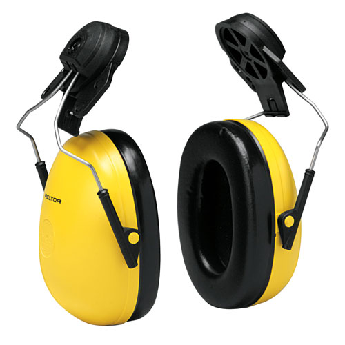 3M Peltor Optime 98 Cap-Mount Ear Muffs - NRR 23 dB - #H9P3E