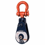 Crosby 419 Light Champion Snatch Blocks w/ Shackle