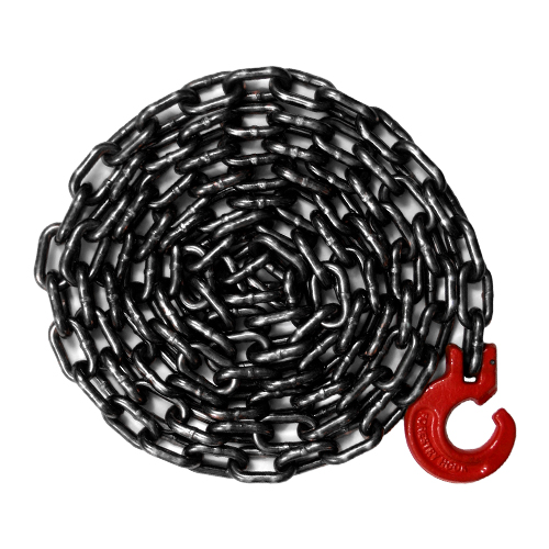 "5/16"" x 8 ft Logging Choker Chain - G100 Alloy Chain"