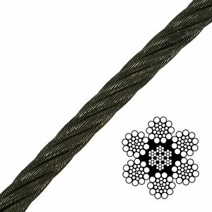 6x19 Class Bright Wire Rope