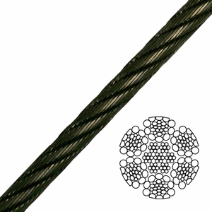 6x26 Impact Swaged Wire Rope