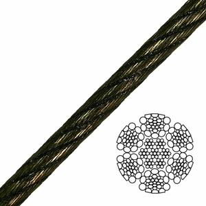 6x26 Swaged Wire Rope