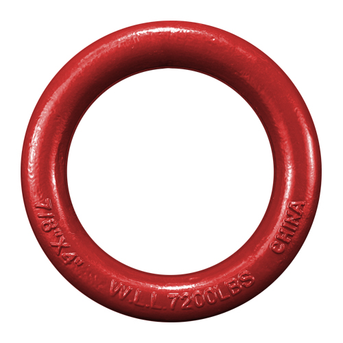 "7/8"" x 4"" Weldless Round Ring - 7200 lbs WLL"