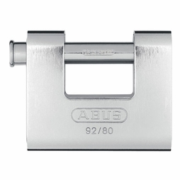 Abus Steel 92/80 Monobloc Security Chain Padlock