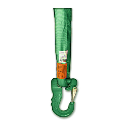 AMH Green Round Sling Hook - 5300 lbs WLL
