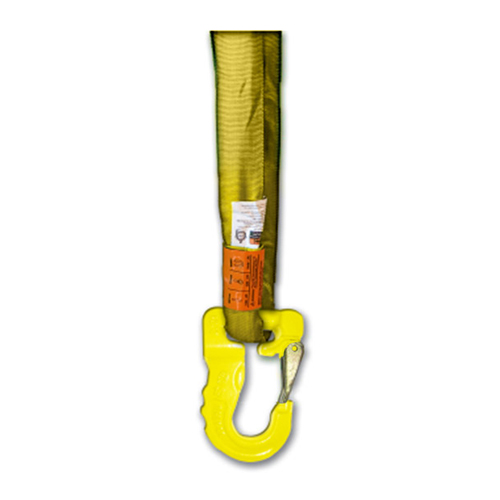 AMH Yellow Round Sling Hook - 8400 lbs WLL