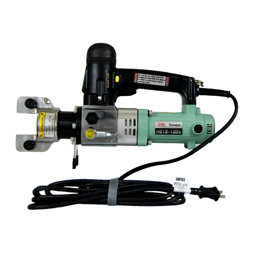 ARM 120V Hydraulic Corded Hand Swager to 1/2""