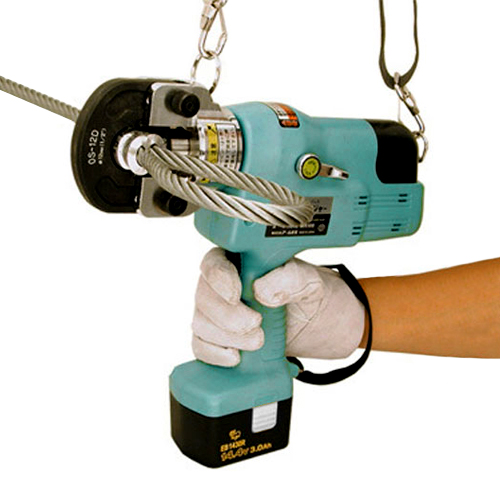 """ARM 14.4V Hydraulic Cordless Hand Swager to 1/2"""""""