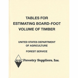 Book - Tables for Estimating Board-Foot Volume of Timber