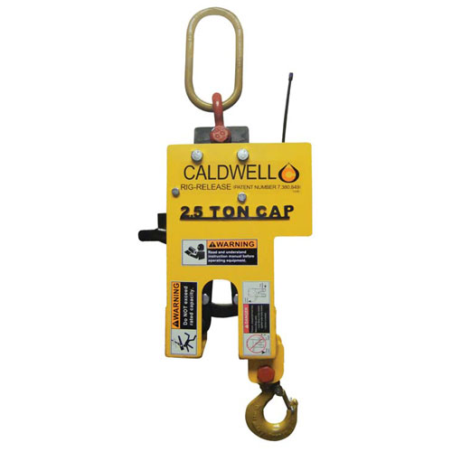 Caldwell 5 Ton Rig-Release Hook - Radio Controlled