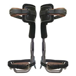 Climb Right Aluminum Pole Climbing Spurs & L-Pads - #91264